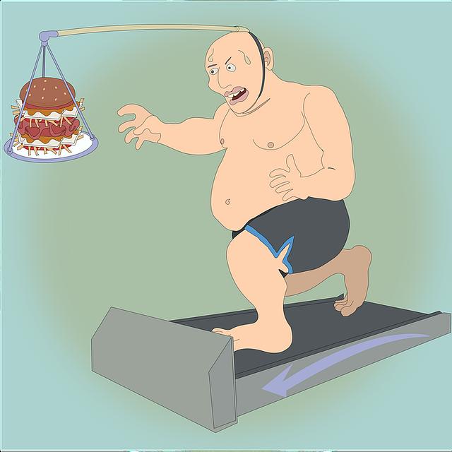 snaha zhubnout