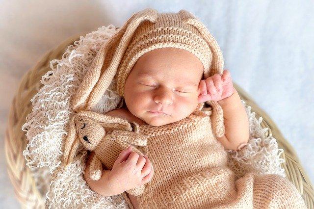 spící mimino