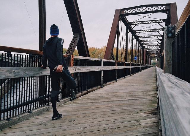 běžec atlet most