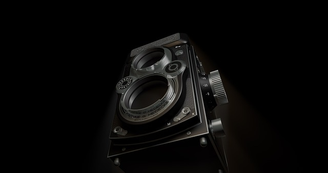 dvouoká zrcadlovka Rolleiflex