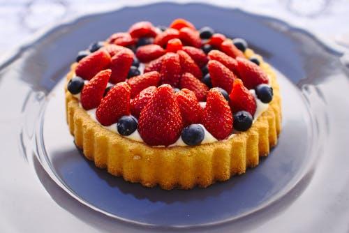 koláč borůvky